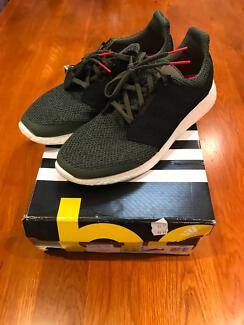 Adidas Pure Boost 2 US11.5 UK11 Green Olive Solar Red
