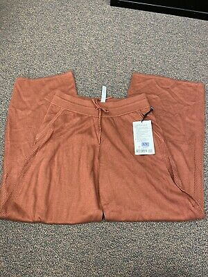 Lululemon In The Comfort Zone Pant Rustic Clay  8 NWT