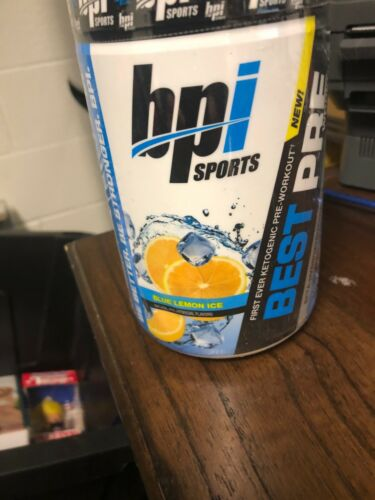 BPI Sports Best Pre-Workout Blue Lemon   Muscle Builder Stre