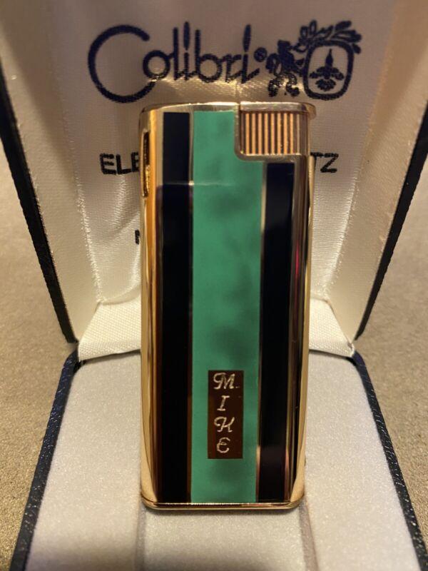 Colibri Electro Quartz Lighter- No Flint, No Battery, No Spark Wheel. Korea...