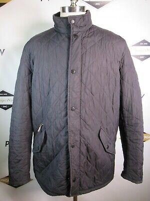 E7608 VTG BARBOUR Full-Zip Quilted Jacket Size XL