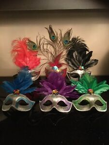Masquerade Party Masks Marci Gras Wedding New Years New