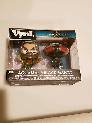 FUNKO VYNL: Aquaman & Black Manta [New Toys] Vinyl Figure