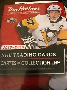 2018/2019 Tim Hortons Hockey Cards