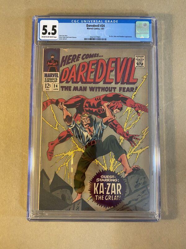 Daredevil # 24 CGC 5.5
