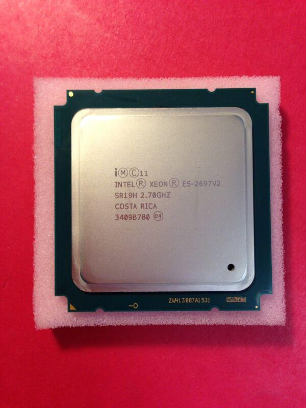 Intel Xeon E5-2697v2 2.7ghz 30mb 8gt/s 12 Core Fclga2011 Cpu Processor Sr19h ***