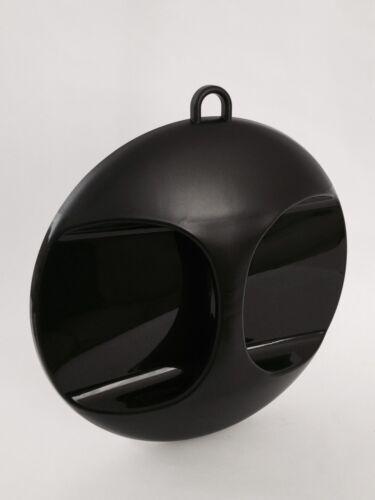 Friseurspiegel Friseur Spiegel Handspiegel Kabinetspiegel schwarz 27 cm / Griff