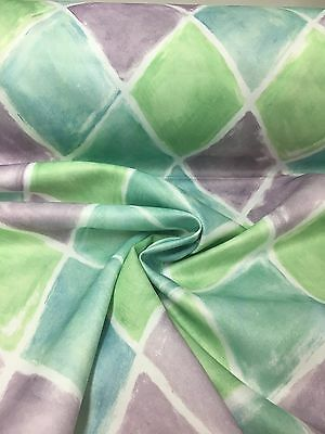 FIRE RESISTANT POLYESTER SATIN GREEN CURTAIN FABRIC 14 METRES