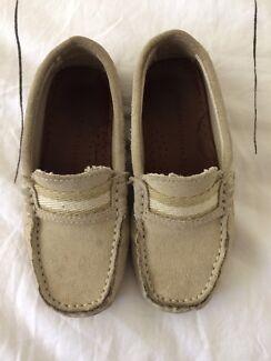 Zara boy summer suede shoes