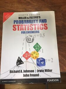 Probability & Statistics for engineers