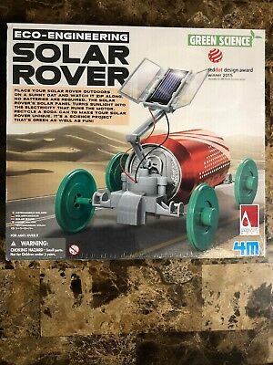 SOLAR ROVER - GREEN SCIENCE ECO-ENGINEERING KIDS SCIENCE & ACTIVITY KIT](Green Science Kits)
