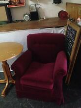 Purple armchair barely used Marrickville Marrickville Area Preview