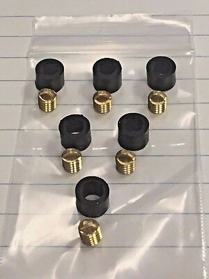 Refrigeration Hose Repair Kit For Hoses With 14 Knurled Nut Flared Ends 6