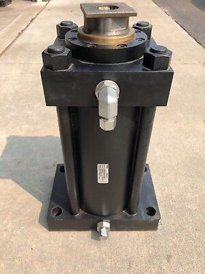 Parker Atlas Hydraulic Cylinder Series H 6 Bore 10 Stroke 3 Rod 42ton 3000psi
