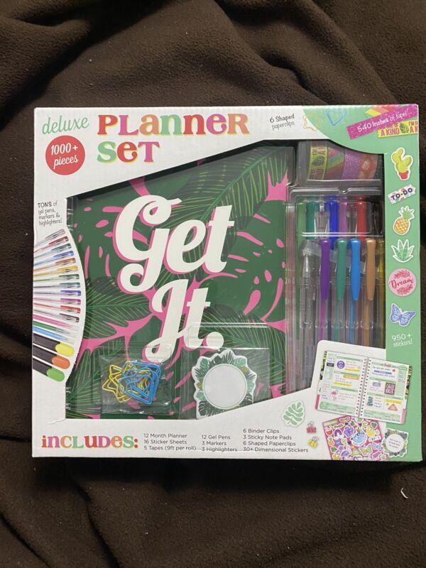 3Birds Design 1000+ Piece Deluxe Planner Set