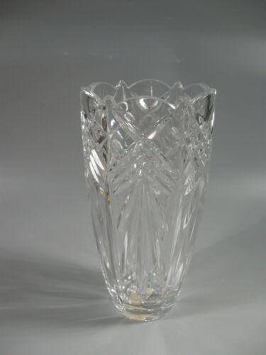 "Vintage Mikasa Vase Star Struck 7-3/4"" Czech Republic"