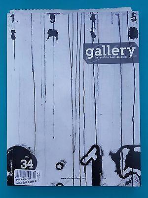 Gallery Vol. 34 - The World´s Best Graphics  (Englische Ausgabe) ungelesen 1a