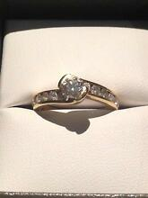 18ct Gold, 1/2ct round diamond, Engagment ring Medowie Port Stephens Area Preview