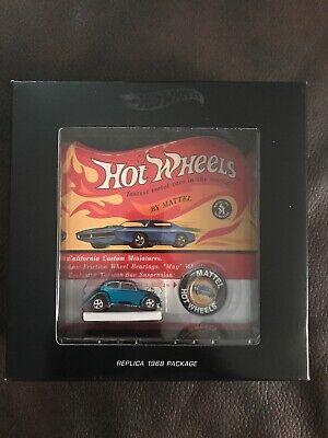 Hot Wheels RLC Original 16 Black Box Custom Volkswagen