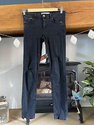 Zara Black Skinny Jeans Size 10