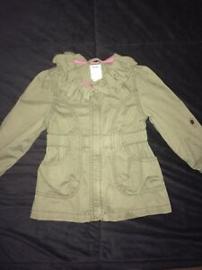 Manteau printemps fille 3 ans
