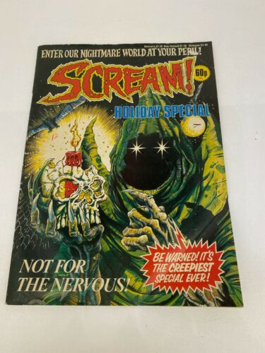 Vintage 1986 - Scream! - Holiday Special - Comic