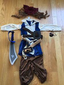 Disney Captain Jack Sparrow Costume Size 4-6