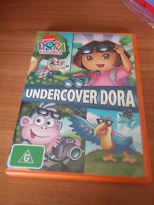 Dora the explorer....Undercover Dora Dvd Lara Outer Geelong Preview