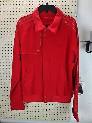 Adidas Vespa Jacket .. (Size Large) .. Red .. Preowned