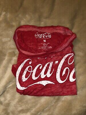 Womens Coca Cola T-shirt(see through)