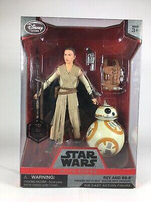 Star Wars Elite Series Rey & BB-8 Die Cast Figures Disney New Sealed
