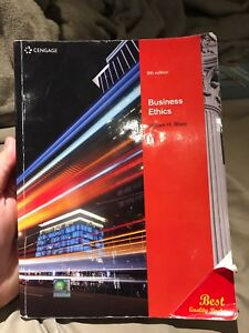 Business ethics buy or sell books in toronto gta kijiji business ethics by william h shaw 8th edition fandeluxe Choice Image