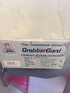 "GrabberGard 1 1/4"" Cement Board Screws"