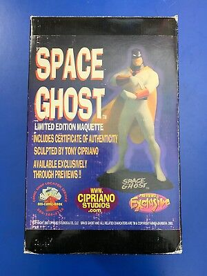 - SPACE GHOST LIMITED EDITION MAQUETTE PREVIEWS EXCLUSIVE #16/25 CIPRIANO STUDIOS