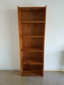 BOOKCASE SOLID TIMBER