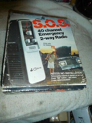 Cobra Portable 40 Channel Trucker Handheld CB Radio Emergency Ready Rescue Kit