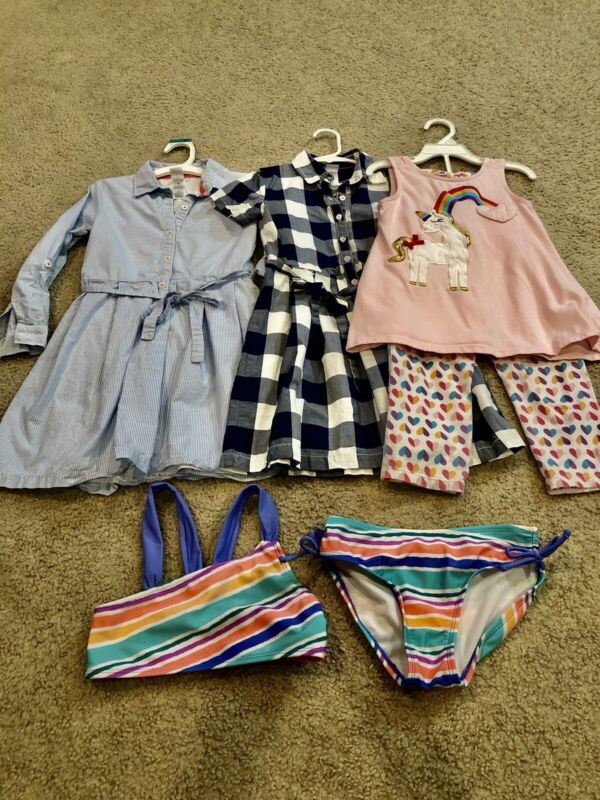 Lot Of Girls Clothes Spring/summer Size 6/6x Euc 6 Pcs