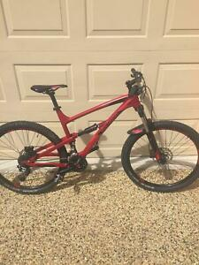 Polygon Dual suspension mountain bike