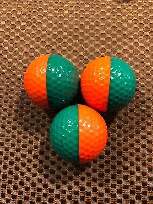 PING GOLF BALL/S-(1) GREEN/ORANGE PING EYE2 ..NO LOGO....9.7/10 OR (Best Orange Golf Balls)