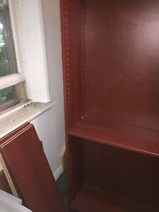 Large Red/Brown Bookshelf
