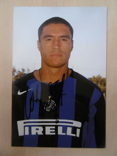 "Ivan Cordoba ""Inter"" Autogramm signed 10x15 cm Bild"