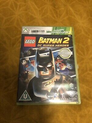 Lego Batman 2 DC Super Heroes Xbox 360 Game