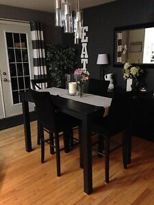 Black Dining Room Table