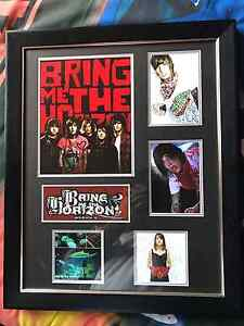 Signed bring me the horizon picture frame Altona Meadows Hobsons Bay Area Preview