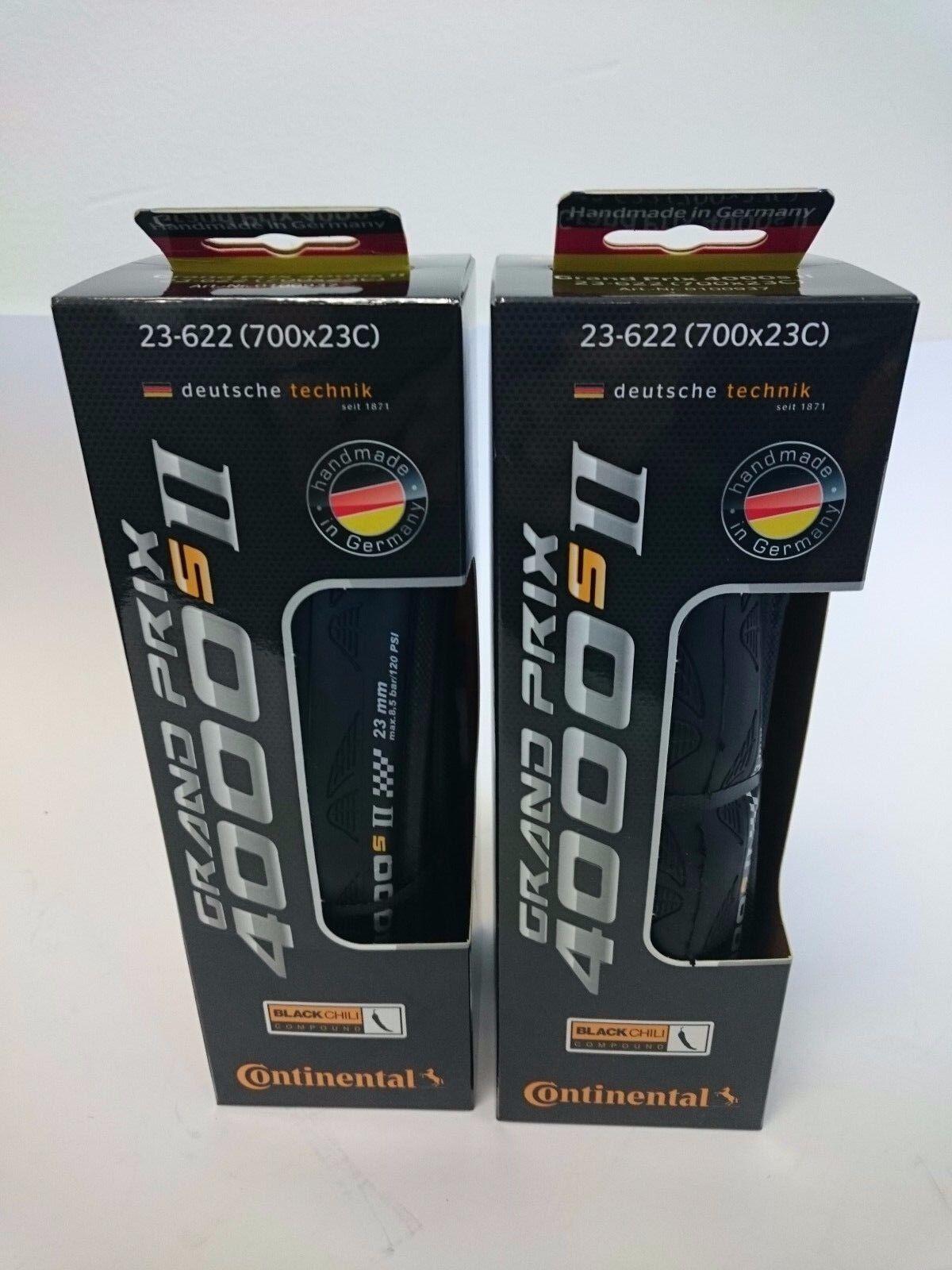 2 Pack - Continental Grand Prix 4000 SII 700 23c 25c 28c Roa