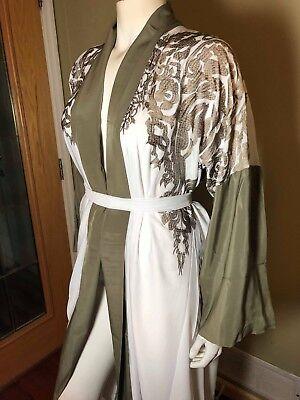 OPEN Fancy Khaleeji Abaya Dubai Jilbab with Lace Size S, M, L, XL