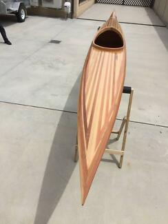 Timber Strip Built Kayak