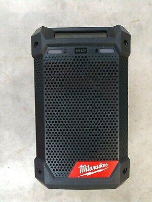 Milwaukee M12 Radio/Bluetooth Speaker w/ Built-In Charger Model# 2951-20