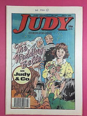 JUDY - Stories For Girls - No.1591 - July 7, 1990 - Comic Style Magazine