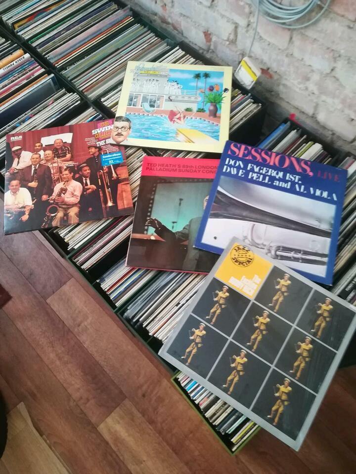 Ca, 900 Jazz-/Swing Platten in Niedersachsen - Hildesheim